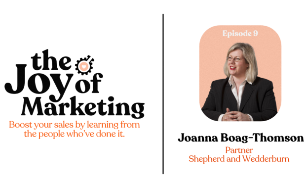Episode 9: Joanna Boag-Thomson
